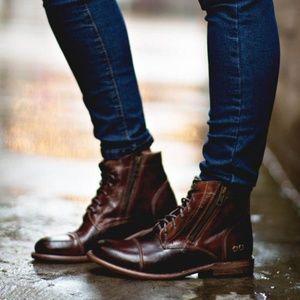Bed Stu Bonnie Teak Rustic Boots